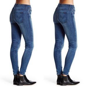 Hudson Nico Midrise Skinny Jeans - Mission Control